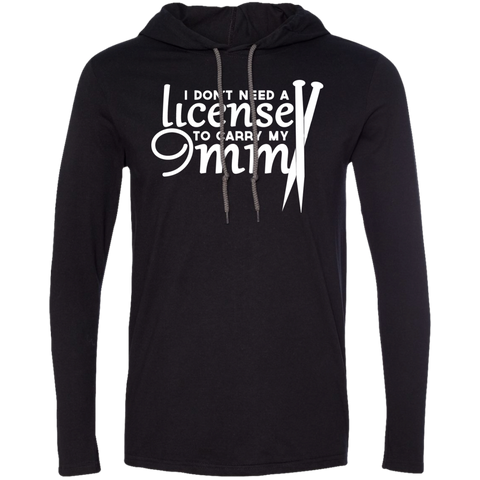 Knitting I Dont Need A License To Carry My 9MM Tee Shirt Hoodies
