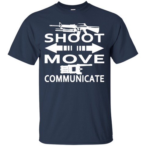 Shoot Move Communicate Tee
