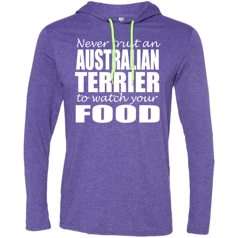 Never Trust An Australian Terrier To Watch Your Food Tee Shirt Hoodies