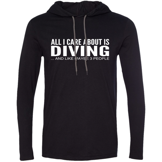 All I Care About Is Diving And Like Maybe 3 People Tee Shirt Hoodies