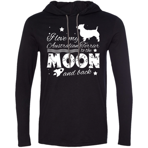 Love My Australian Terrier To The Moon And Back Tee Shirt Hoodies