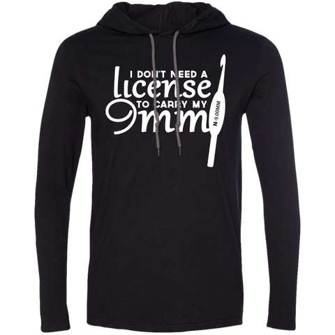 Crochet I Dont Need A License To Carry My 9MM Tee Shirt Hoodies