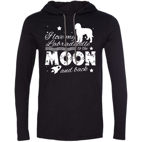 Love My Labradoodle To The Moon And Back Tee Shirt Hoodies