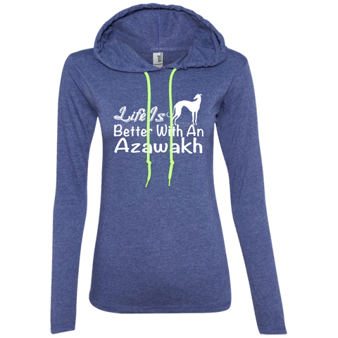 Life Is Better With An Azawakh Ladies Tee Shirt Hoodies