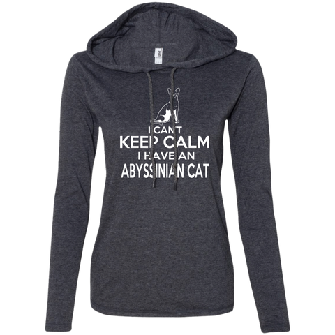 I Cant Keep Calm I Have An Abyssinian Cat Ladies Tee Shirt Hoodies