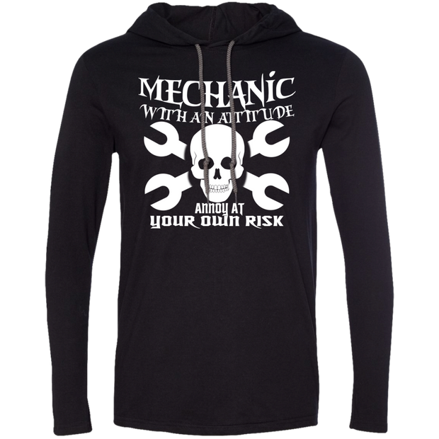 Mechanic With An Attitude Annoy At Your Own Risk Tee Shirt Hoodies