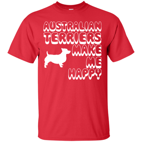 Australian Terriers Make Me Happy Tee