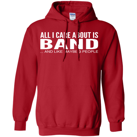 All I Care About Is Band And Like Maybe 3 People Hoodies