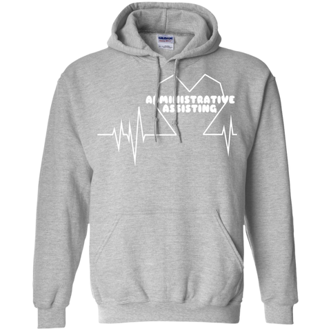 Administrative Assistting Heartbeat Hoodies