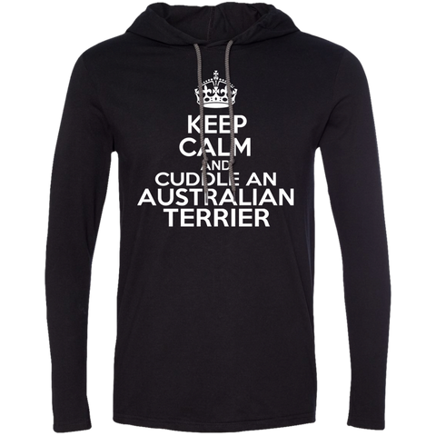 Keep Calm And Cuddle An Australian Terrier Tee Shirt Hoodies