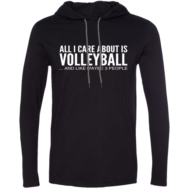 All I Care About Is Volleyball And Like Maybe 3 People Tee Shirt Hoodies