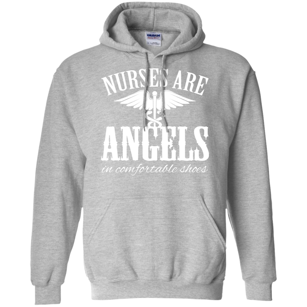 Nurses Are Angels In Comfortable Shoes Hoodies