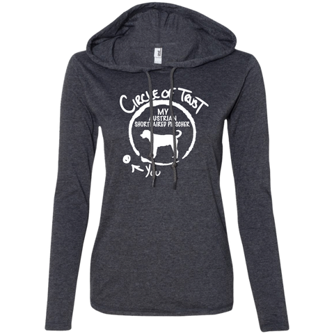 Circle Of Trust My Australian Shorthaired Pinscher You Ladies Tee Shirt Hoodies