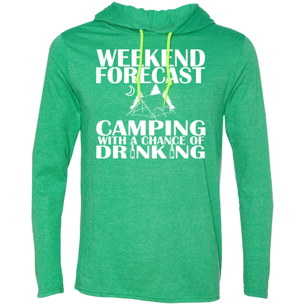 Weekend Forecast Camping With A Chance Of Drinking Tee Shirt Hoodies
