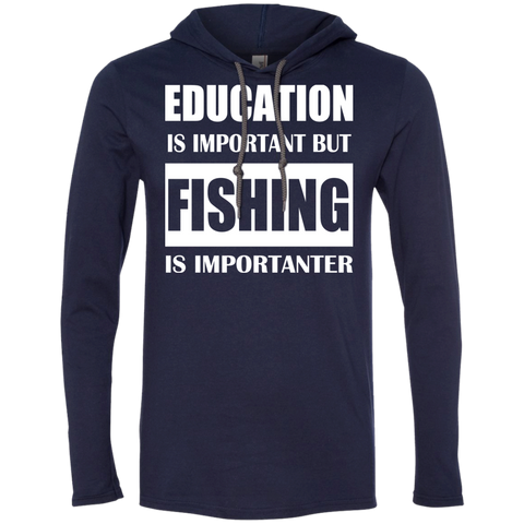 Education Is Important But Fishing Is Importanter Tee Shirt Hoodies