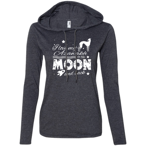 Love My Azawakh To The Moon And Back Ladies Tee Shirt Hoodies