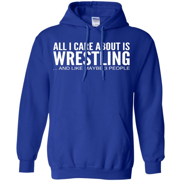 All I Care About Is Wrestling And Like Maybe 3 People Hoodies