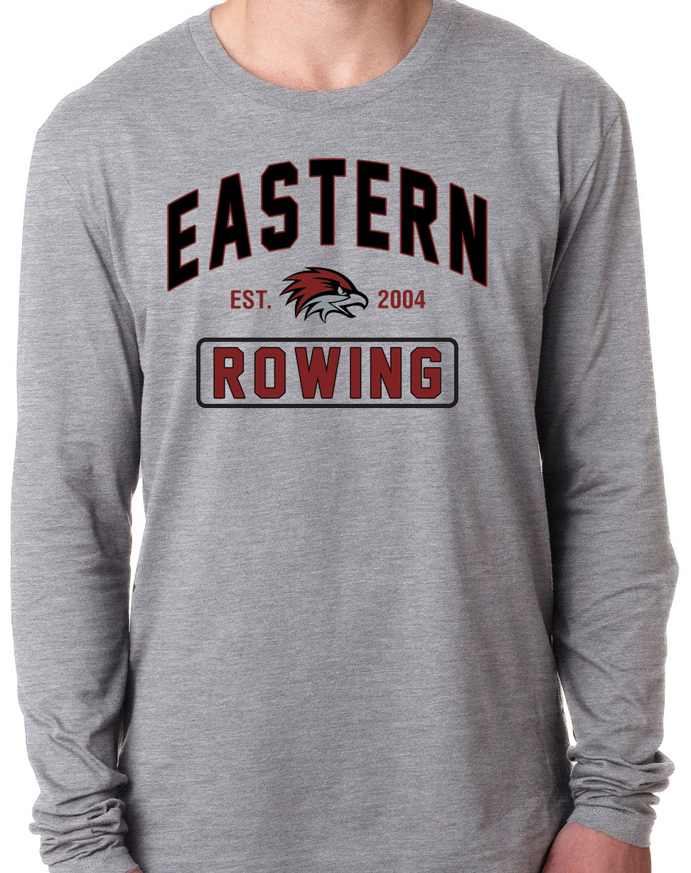 EASTERN ROWING Long Sleeve Unisex Tri-Blend T-Shirt