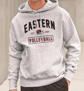 EASTERN VOLLEYBALL Reverse Weave Champion Hoodie Sweatshirt