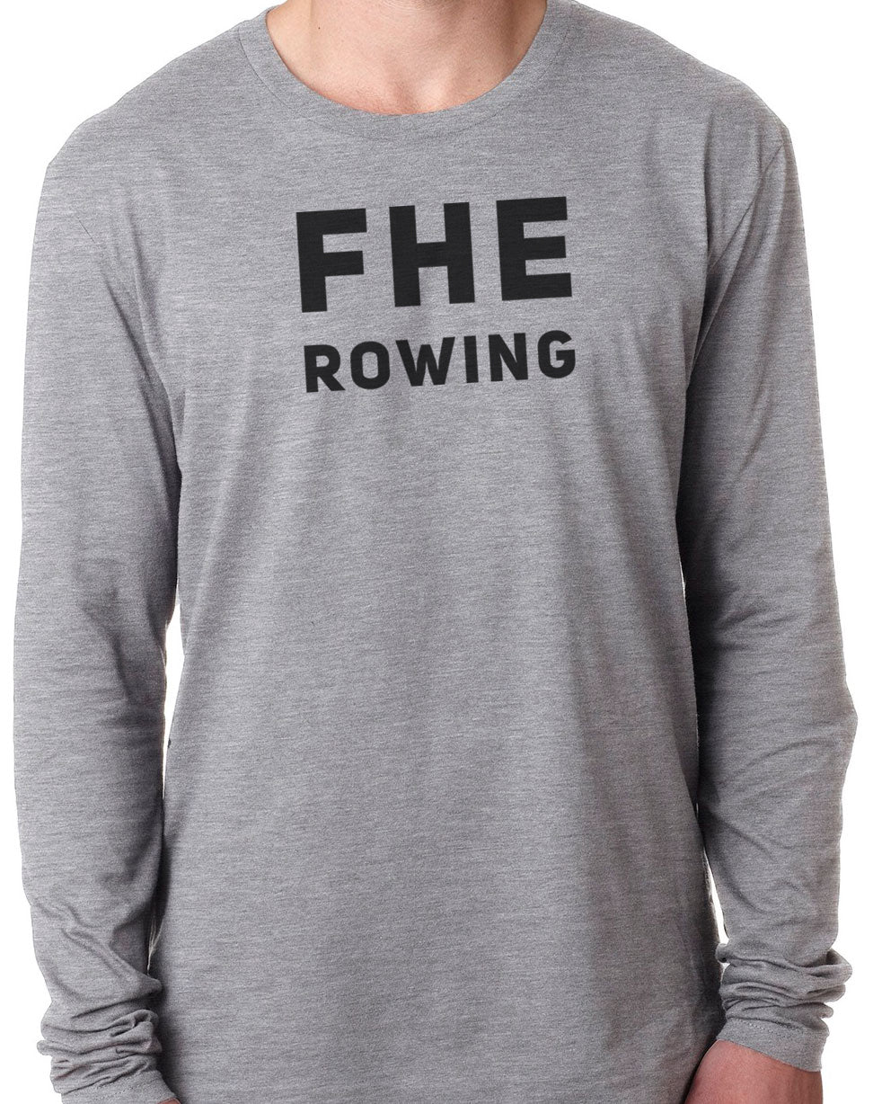 FHE ROWING SIMPLE Long Sleeve Unisex Tri-Blend T-Shirt