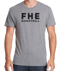 FHE BASKETBALL SIMPLE Men's Premium Short Sleeve Tri-Blend