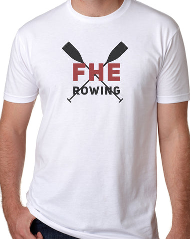 FHE ROWING RED OARS softstyle t-shirt