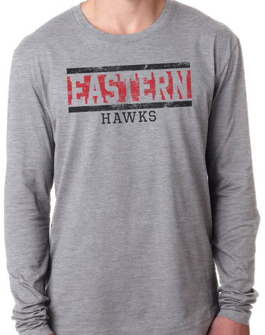 EASTERN HAWKS Tri-Blend Long Sleeve