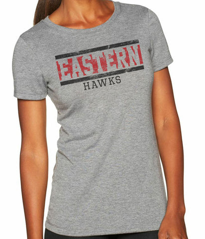 EASTERN HAWKS Women's Tri-Blend Short Sleeve