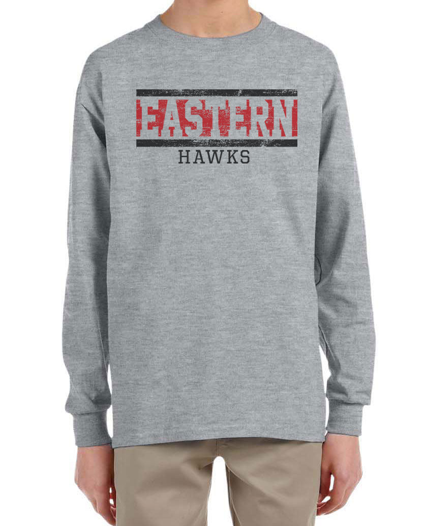 EASTERN HAWKS Youth Long Sleeve