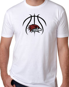 BASKETBALL HAWK HEAD Softstyle T-Shirt