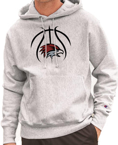 EASTERN BASKETBALL HAWK HEAD Reverse Weave Champion Hoodie Sweatshirt