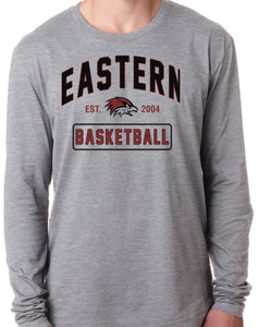 EASTERN BASKETBALL Long Sleeve Unisex Tri-Blend T-Shirt