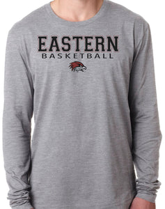 EASTERN BASKETBALL HAWK HEAD Long Sleeve Unisex Tri-Blend T-Shirt