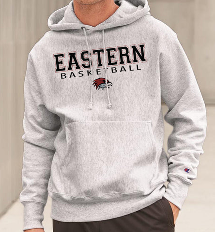 EASTERN BASKETBALL Reverse Weave Champion Hoodie Sweatshirt