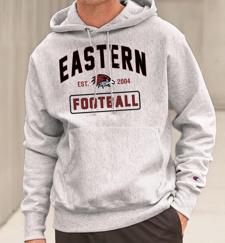 Eastern Football Reverse Weave Champion Hoodie Sweatshirt
