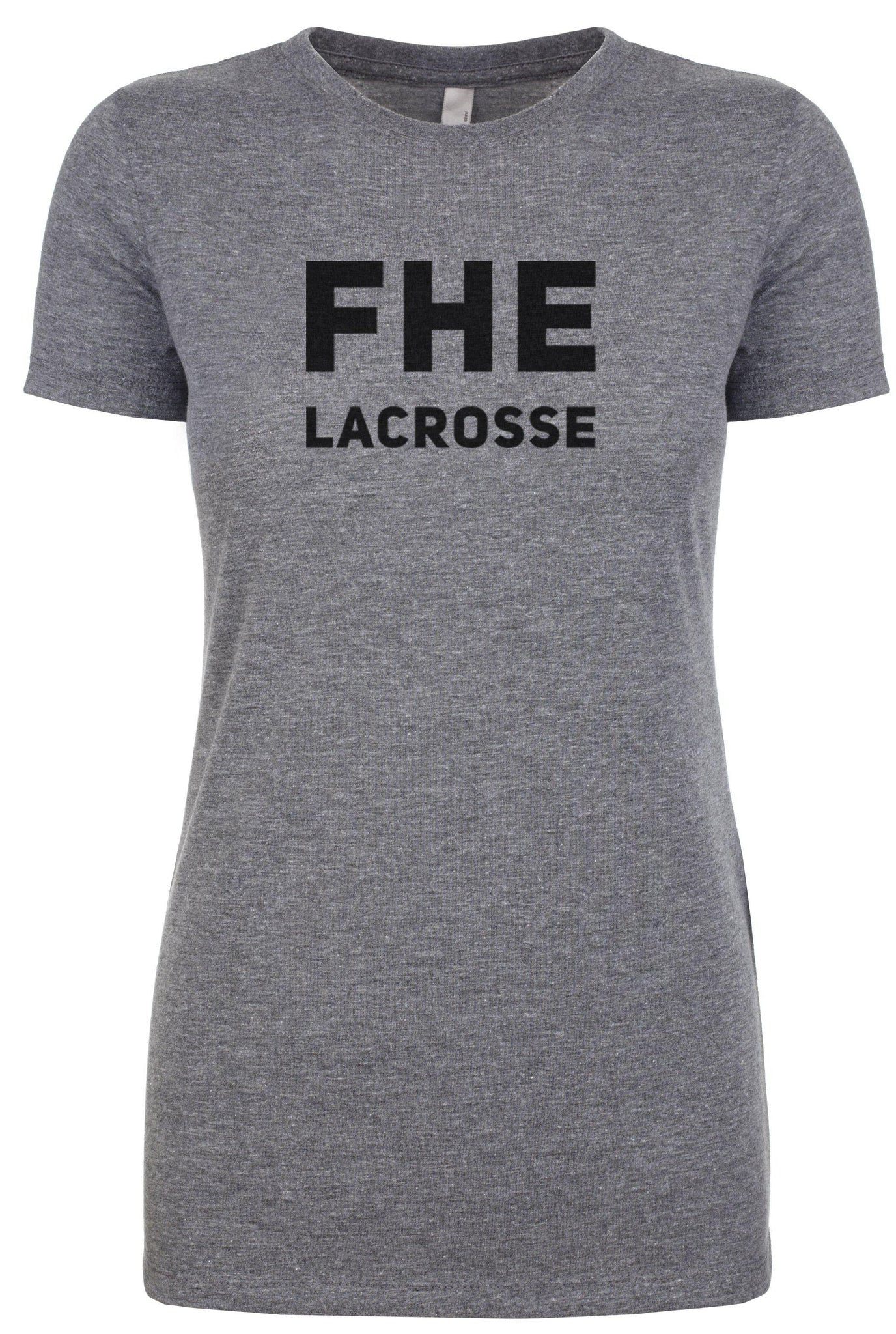 FHE LACROSSE Women's Fitted Tri-Blend T-Shirt