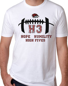 LIMITED EDITION Forest Hills Eastern Football 2020 H3 (Updated team names printed on back) CHOOSE YOUR GARMENT