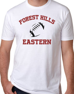 FOREST HILLS EASTERN FOOTBALL Softstyle T-Shirt