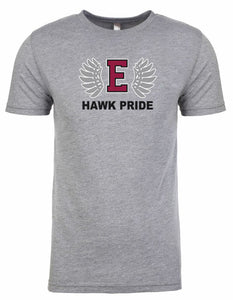 HAWK PRIDE men's tri-blend t-shirt
