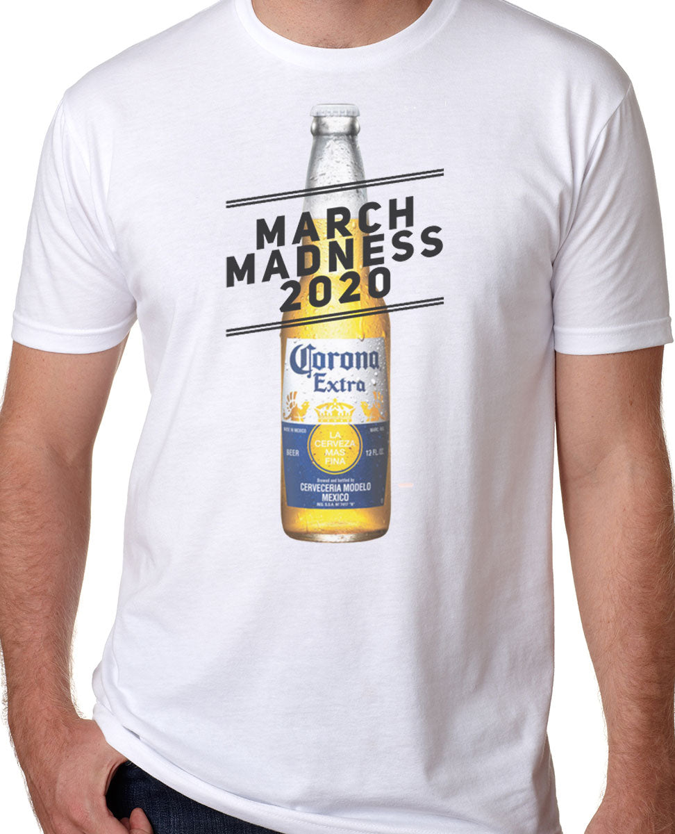 March Madness Corona Shirt PROFITS TO BENEFIT KIDS FOOD BASKET