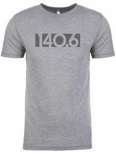 "Men's short sleeve tshirt ""140.6 bar code""  by Endurance Apparel"