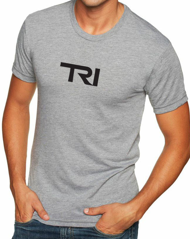 "Men's short sleeve triathlon tshirt ""TRI"" by Endurance Apparel"
