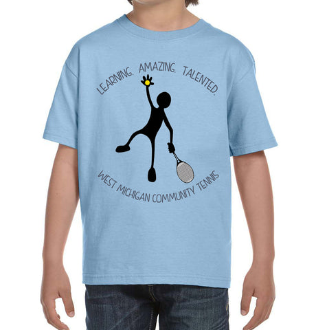West Michigan Community Tennis Chari-Tee Adult and Youth Sizes