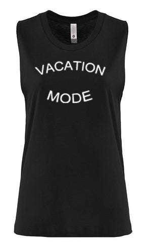 VACATION MODE Workout Muscle Tank