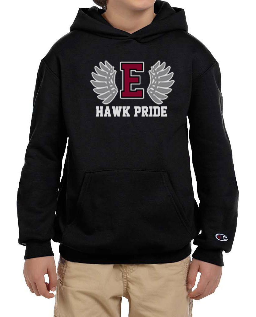 Hawk Pride Youth Champion Brand Hoodie (2 Colors available)