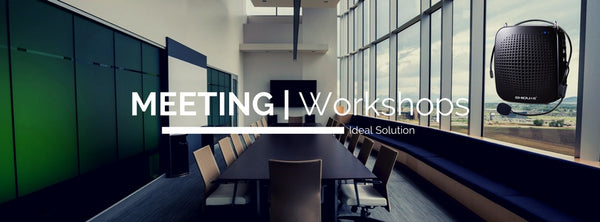 LoudSpeaker or Voice Amplifier for Business Meetings, Workshops, Seminars, Trainings, Yoga, Tour Guide, etc.