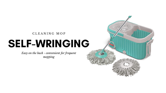 Self Wringing Ease to use Floor Cleaning Mop