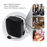 Portable Voice Amplifier Loud Speaker with Microphone