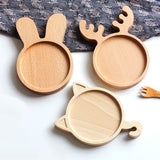Nordic Baby Feeding Wooden Plate