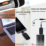 Wireless Microphone USB or USB C Wireless Microphone for Phone & Laptop